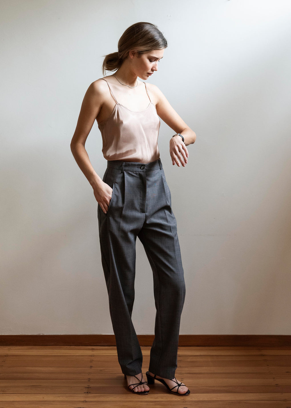 Camisole | Viscose Twill | Blush
