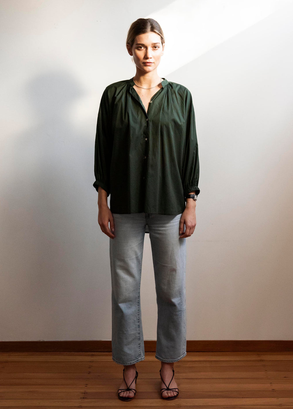 Everyday Blouse | Cotton Voile | Jungle