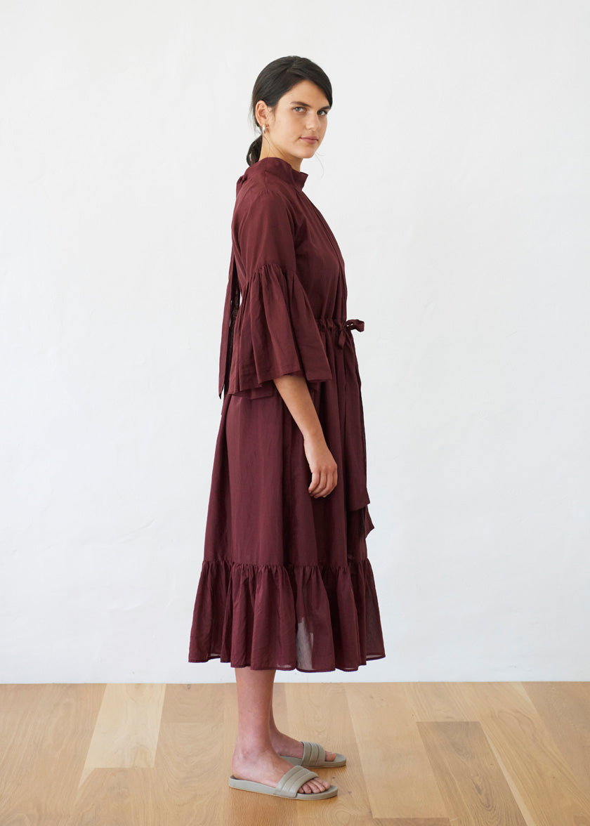 O'Keeffe Dress | Liberty | Plum