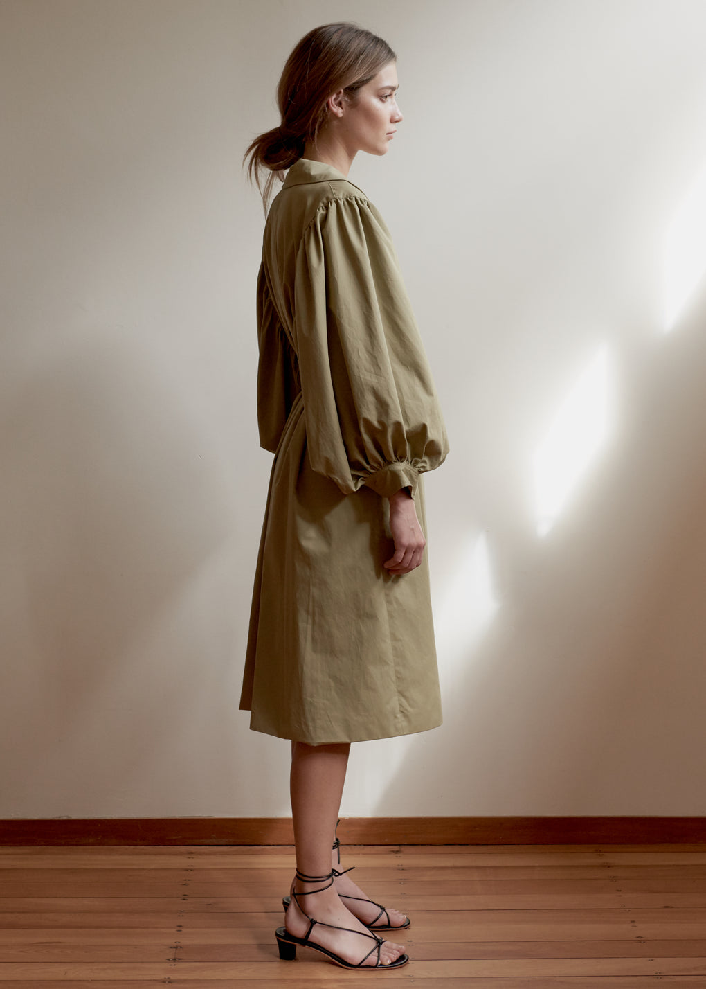 Romantic Trench | Peached Cotton | Sage