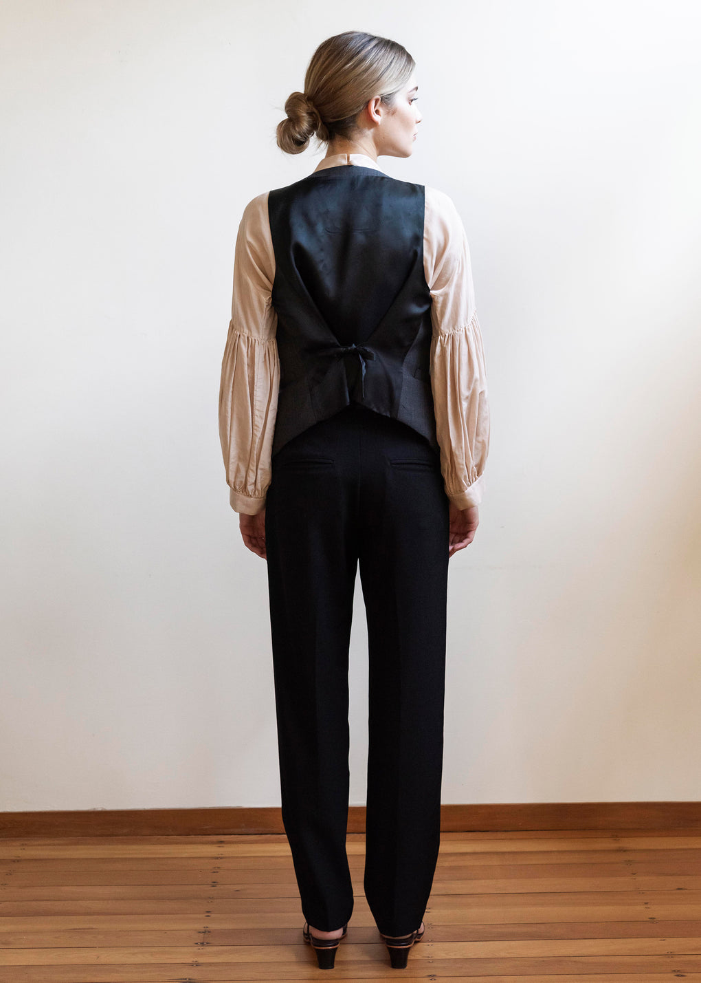 Gentleman Waistcoat | Plaid Suiting | Charcoal