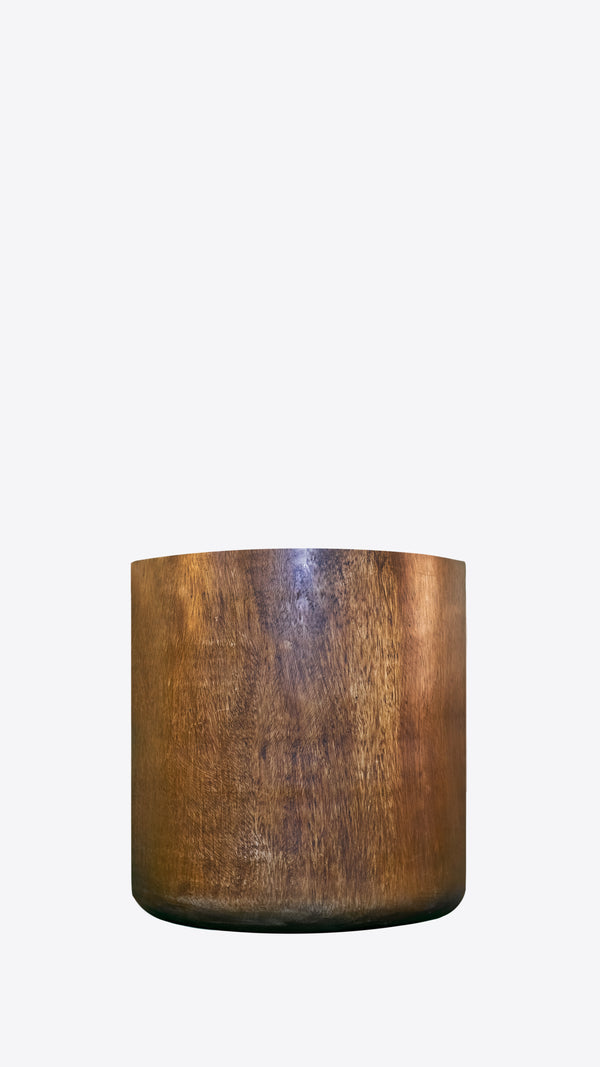 Arbor Collection Wooden indoor pot 3 - Ian Lyell Design