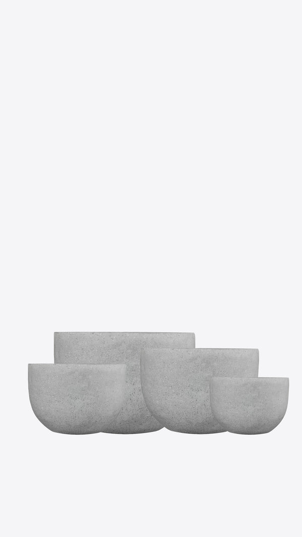 Cimstone Squat Pot Set - Ian Lyell Design Pots for Living Life