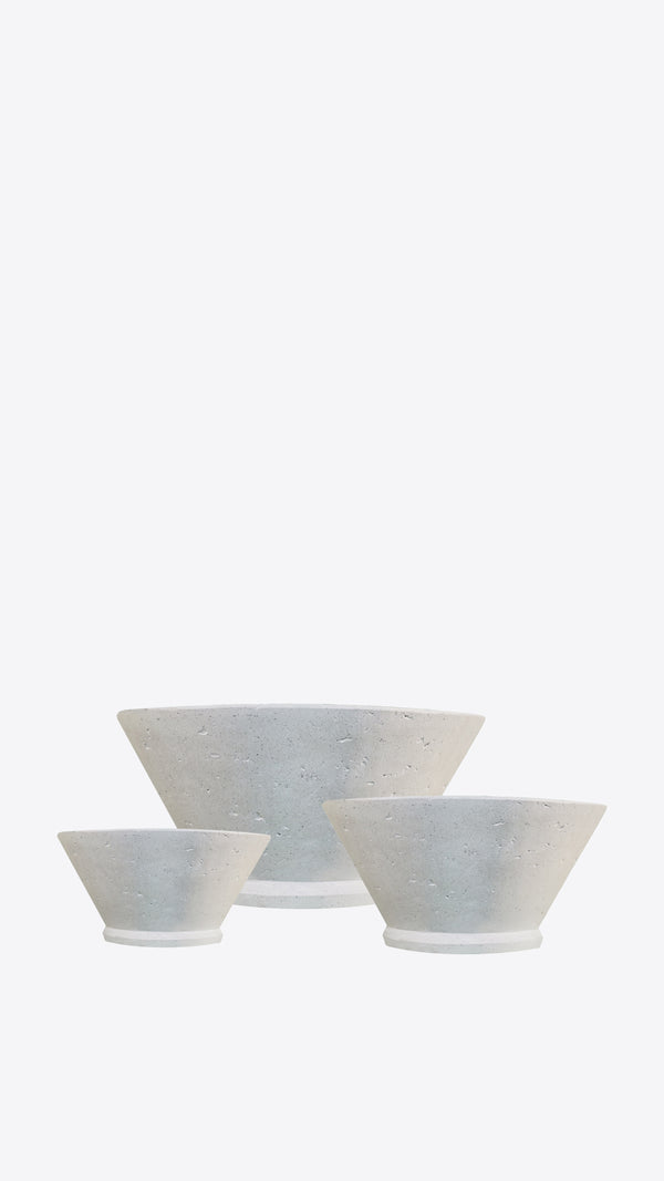 Cimstone 'V' Planter Set - Ian Lyell Design