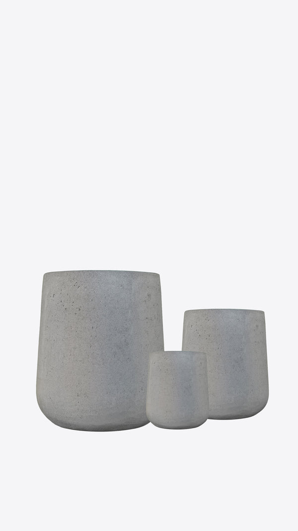 Cimstone Bell Planter Set - Ian Lyell Design Pots for Living Life