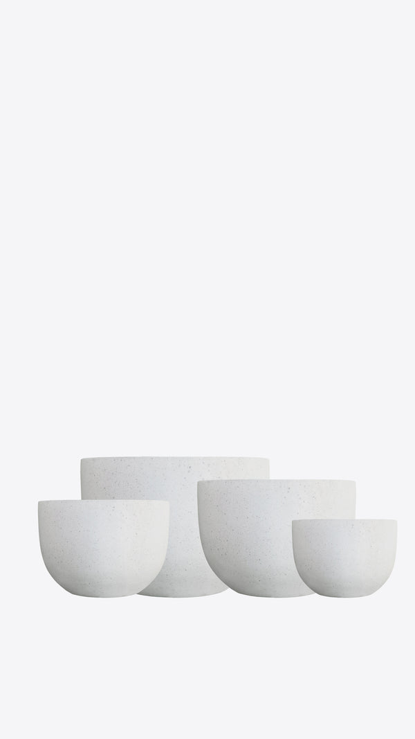 Cimstone Squat Pot Set - Ian Lyell Design