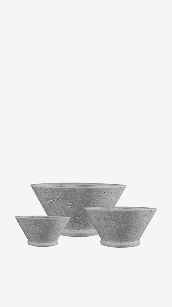 Cimstone 'V' Planter Set - Ian Lyell Design Pots for Living Life
