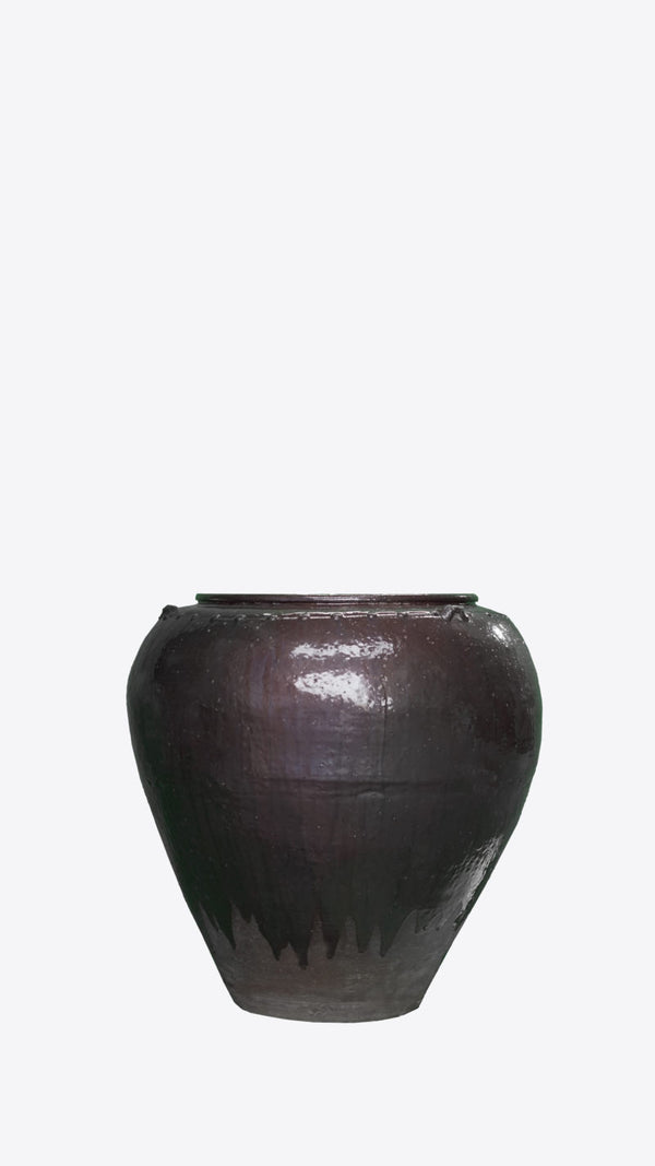 Burmese Ceramic Pot - Ian Lyell Design