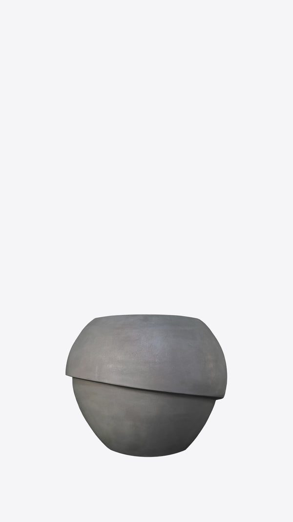 Millinery B 8 Grey Indoor Planter