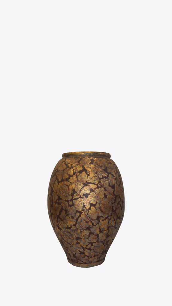 Lanna Thai Goldleaf - Ian Lyell Design Pots for Living Life