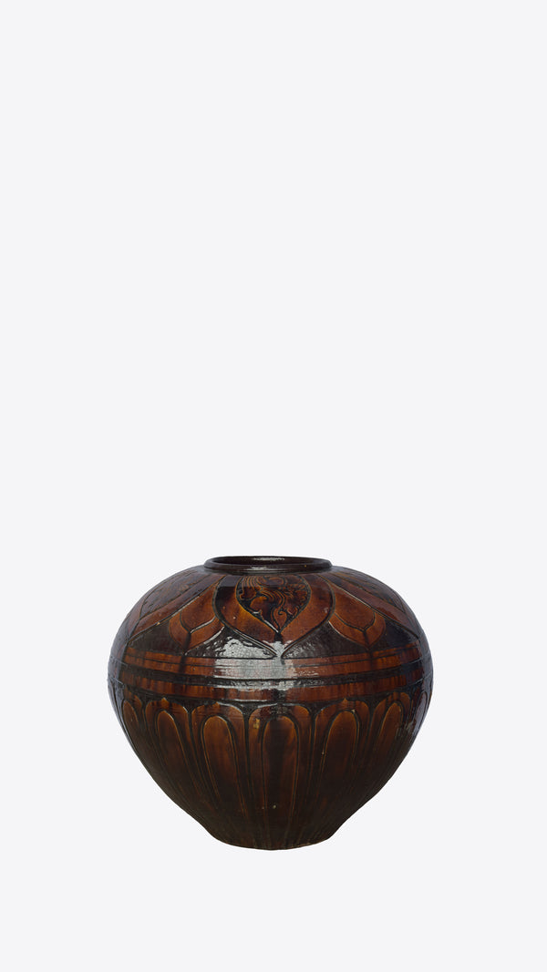 Burmese Ceramic Pot - Ian Lyell Design Pots for Living Life