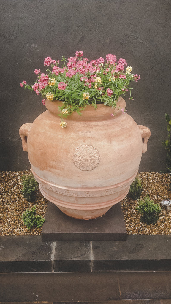 Italian Terracotta Orcio Planter - Ian Lyell Design Pots for Living Life