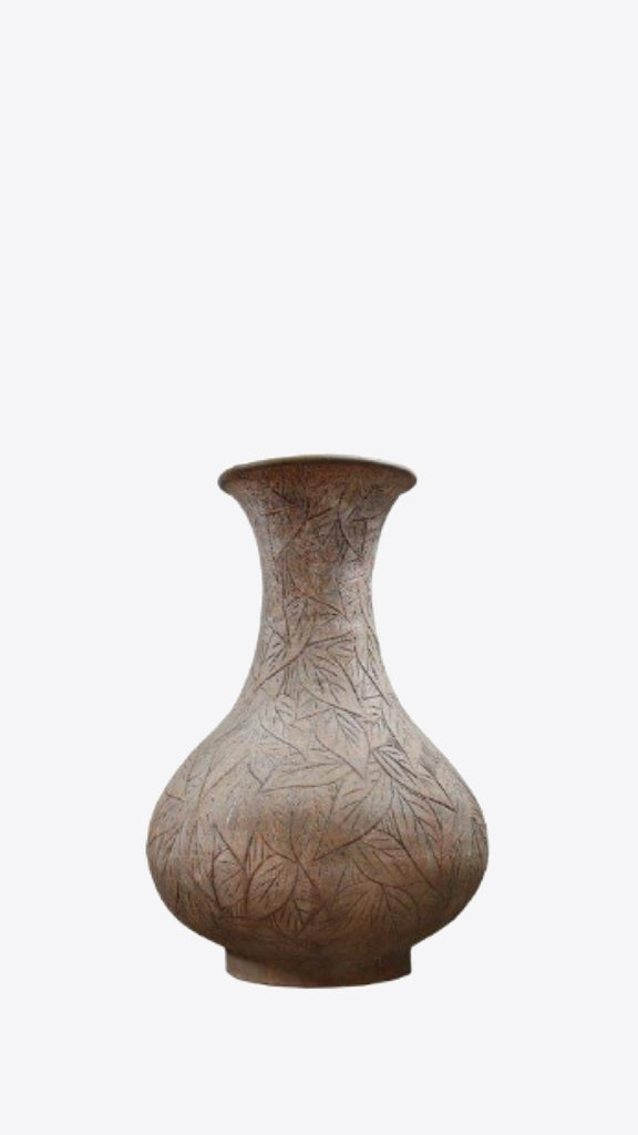 Thai Leaf Vessel A - Ian Lyell Design Pots for Living Life