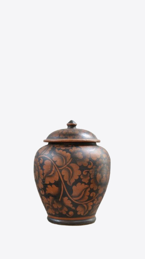 Thai Patterned Vessel - Ian Lyell Design Pots for Living Life