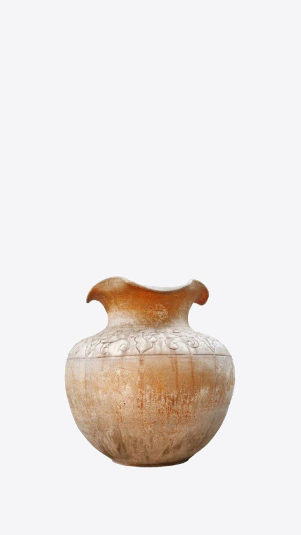 Thai Relief Vessel - Ian Lyell Design Pots for Living Life