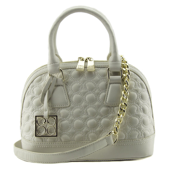 Mavis Mini Quilted Dome Satchel