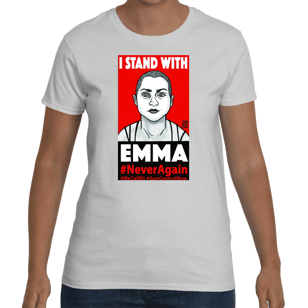 I Stand With EMMA Ladies Tshirt