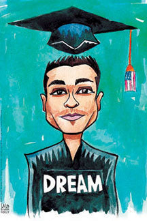DREAM Boy print by Lalo Alcaraz