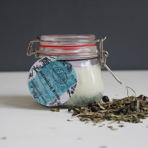 Refreshing Mint Spa-Candle