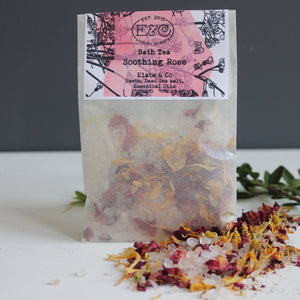 Bath tea rose elate and co