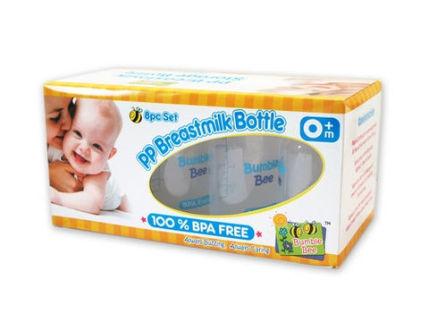 Bumble Bee - PP Breastmilk Storage Bottles