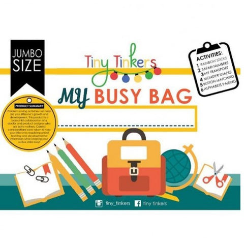 Tiny Tinkers - My Busy Bag