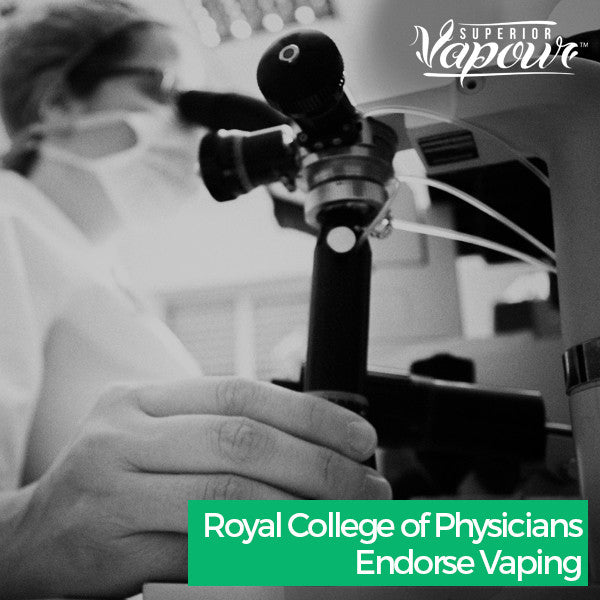 Royal College of Physicians Endorse Vaping