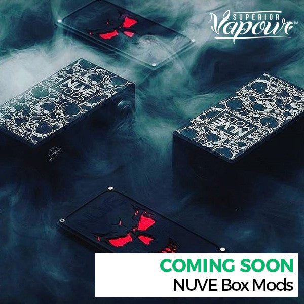 Coming Soon - NUVE Regulated Box Mods
