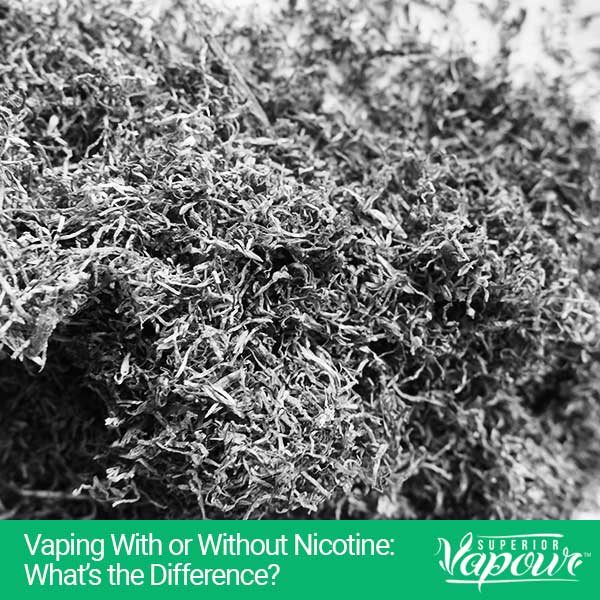 Vaping With or Without Nicotine: What's the Difference?