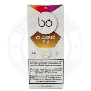 Classic 11S Salt Nic Bo Caps By Vaping E Liquid