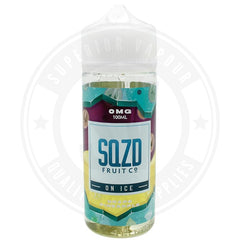 Grape Pineapple On Ice E-Liquid 100Ml By Sqzd Fruit Co. E Liquid