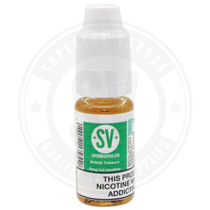 British Tobacco E-Liquid 10Ml By Superior Vapour E Liquid