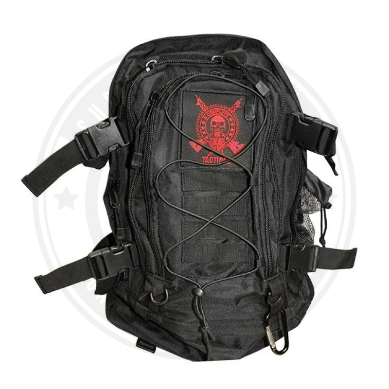 Tactical Backpack By Comp Lyfe Black Backpack
