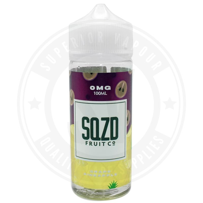 Grape Pineapple E-Liquid 100Ml By Sqzd Fruit Co. E Liquid