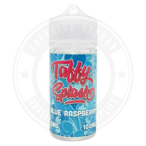 Blue Raspberry E-Liquid 100Ml By Taffy Splash E Liquid