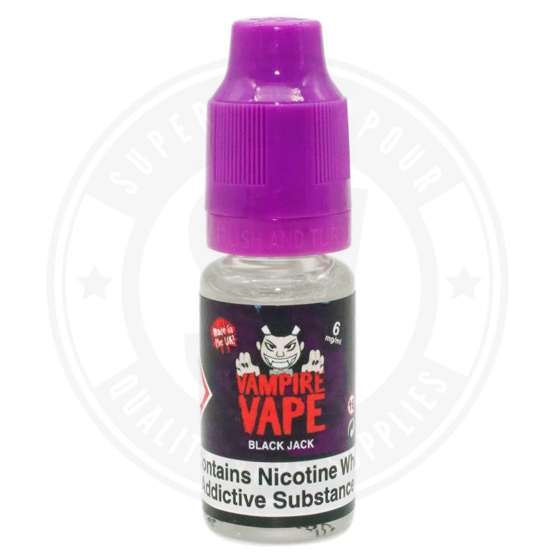 Black Jack E-Liquid 10ml by Vampire Vape