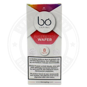 Raspberry Wafer Bo Caps By Vaping E Liquid