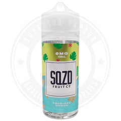 Tropical Punch E-Liquid 100Ml By Sqzd Fruit Co. E Liquid
