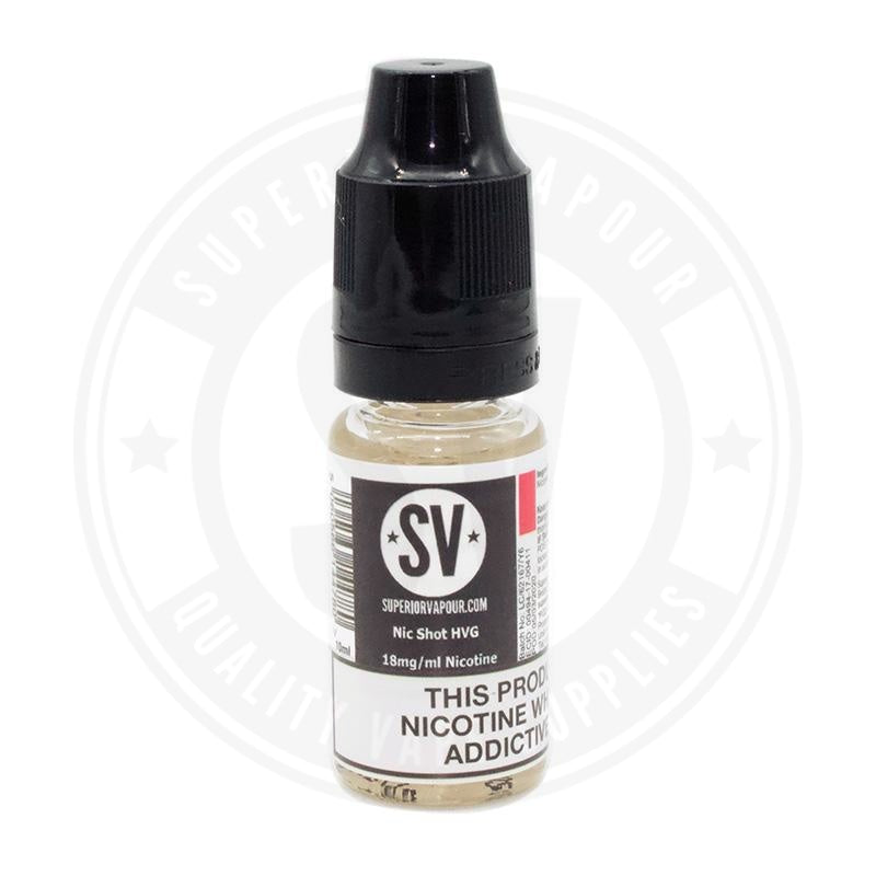 Sv Nicotine Shot 10Ml By Superior Vapour E Liquid