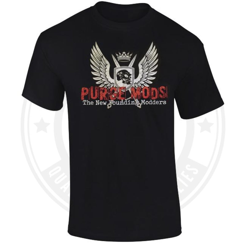 Purge Wing T Shirt By Mods Clothing