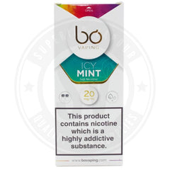 Icy Mint Salt Nic Bo Caps By Vaping E Liquid