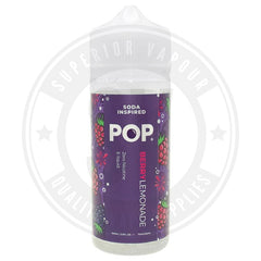 Berry Lemonade E-Liquid 100Ml By Pop E Liquid