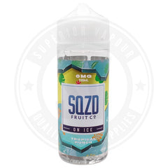Tropical Punch On Ice E-Liquid 100Ml By Sqzd Fruit Co. E Liquid