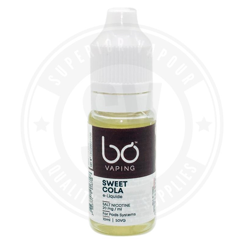 Sweet Cola E-Liquid 10ml Salts by BO Vaping