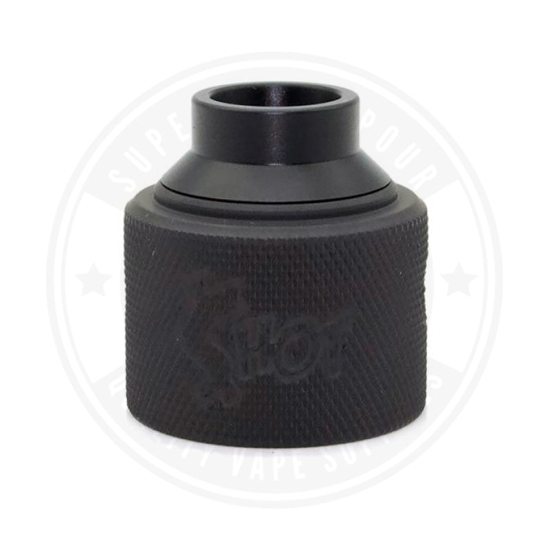 Money Shot Rda Cap By Purge Mods Black Knurled ( Copper )