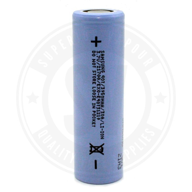 Samsung 40T 21700 Battery By Battery
