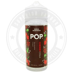 Cherry Cola E-Liquid 100Ml By Pop E Liquid