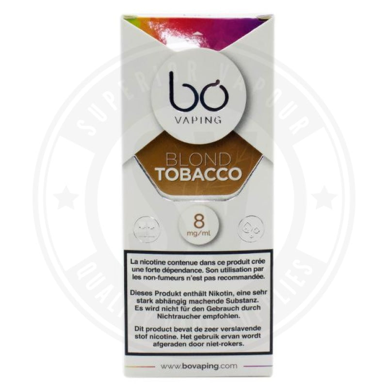 Blond Tobacco Bo Caps By Vaping E Liquid