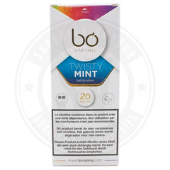Twisty Mint Salt Nic BO Caps by BO Vaping