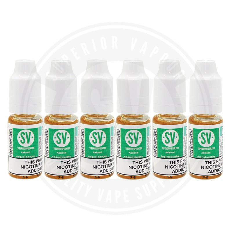 Aniseed E-Liquid 10ml by Superior Vapour